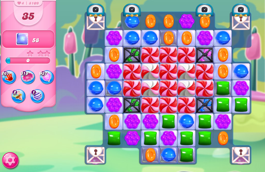 Candy Crush Saga level 8109