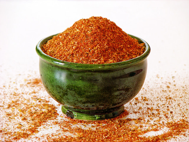 Recette de mélange à chili piquant fait maison - le carnet sur l'étagère