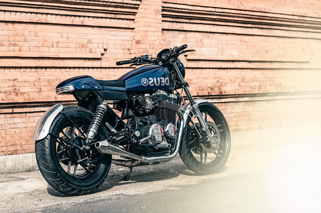 Honda CB650 By Deus Ex Machina Hell Kustom