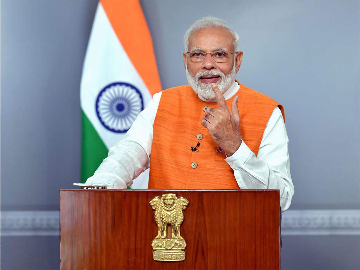 प्रधानमंत्री नरेंद्र मोदी बुद्ध पूर्णिमा के अवसर पर कोरोना योद्धाओं किया सम्मान