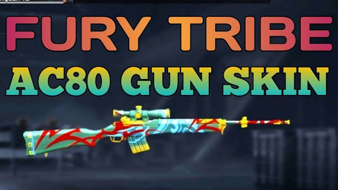 इसका उपयोग कर free fire में आसानी से निकाल पाएंगे AC80 Gun Skin