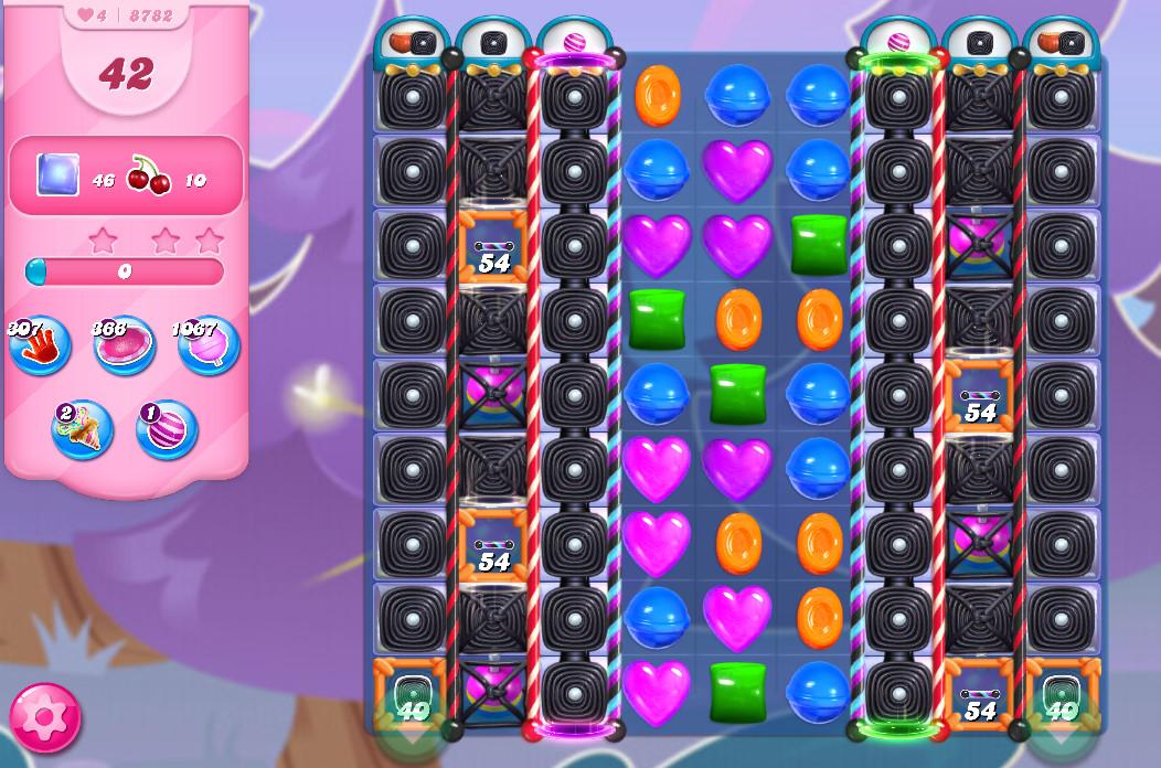 Candy Crush Saga level 8782