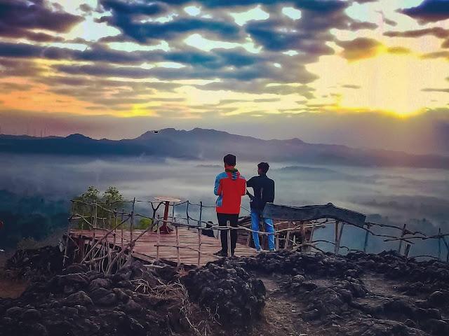 Tempat Sunrise Di Gunung Ireng Srumbung