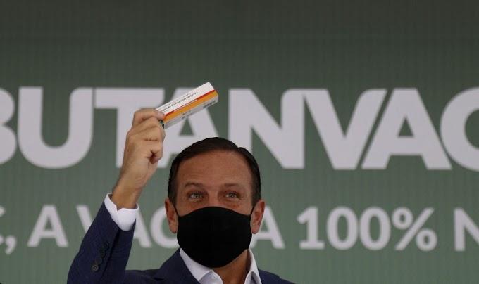 Butantan desmente Doria e admite uso de tecnologia americana na ButanVac