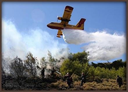 Ενημέρωση πυροσβεστικής Υπηρεσίας για τις φωτιές σε Βιλια και Κερατέα
