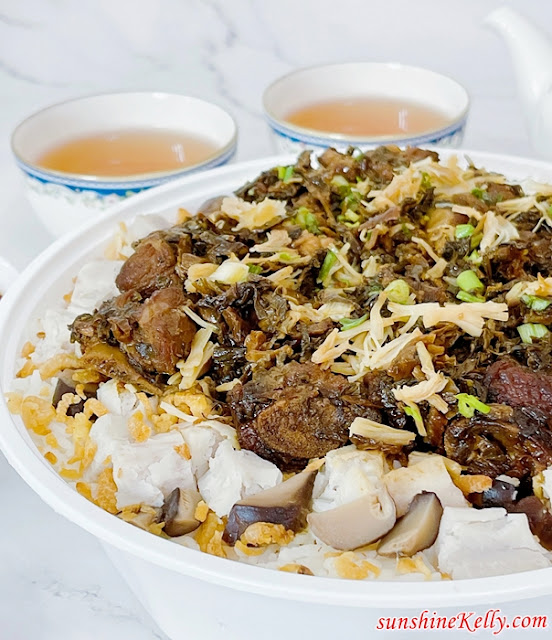Home Cooked Pork Ribs Yam & Preserved Vegetables Rice, Mui Choi Yam Rice Review, Health Care Forte, FB Live, Li Garden Restaurant, Promo Code, Food