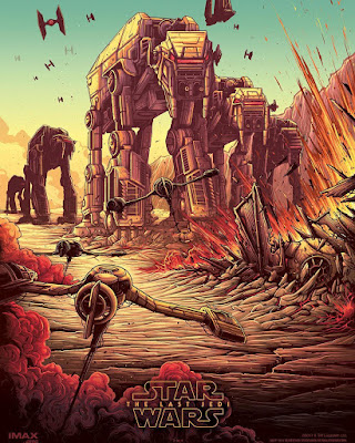 Star Wars The Last Jedi AMC Theaters IMAX Print #2 by Dan Mumford