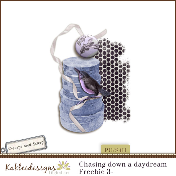 FREEbie #3 - Chasing Down a DayDream from Kakleidesigns