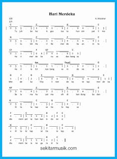 not angka hari merdeka lagu wajib