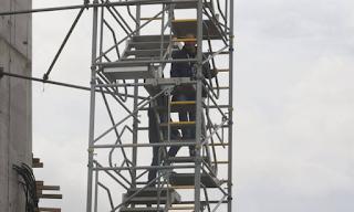Θάνατος στο γήπεδο της ΑΕΚ: Οι εικόνες από το σημείο του δυστυχήματος - Εικόνες