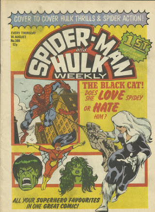 Spider-Man and Hulk Weekly #388, The Black Cat