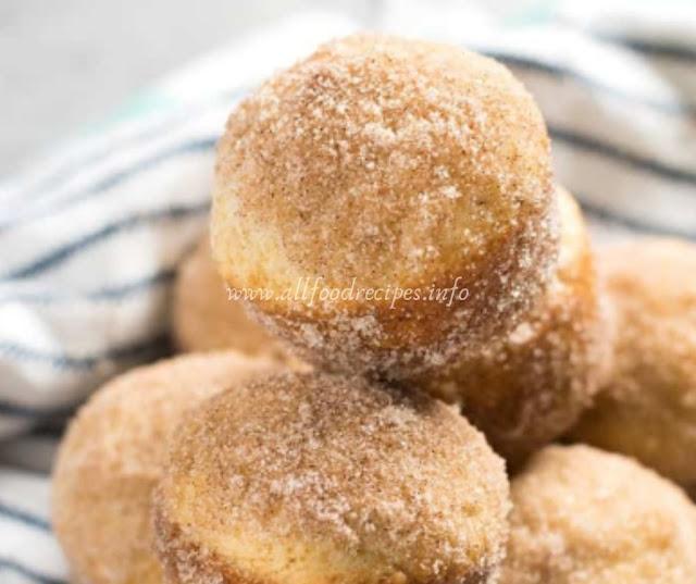Cinnamon Sugar Donut Muffins Recipes