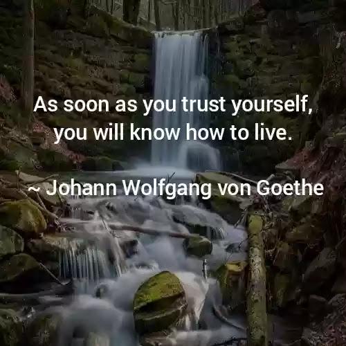 best goethe quotes