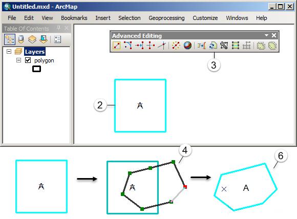 Editing Fitur pada ArcGIS (Tingkat Lanjut) - Replace geometry