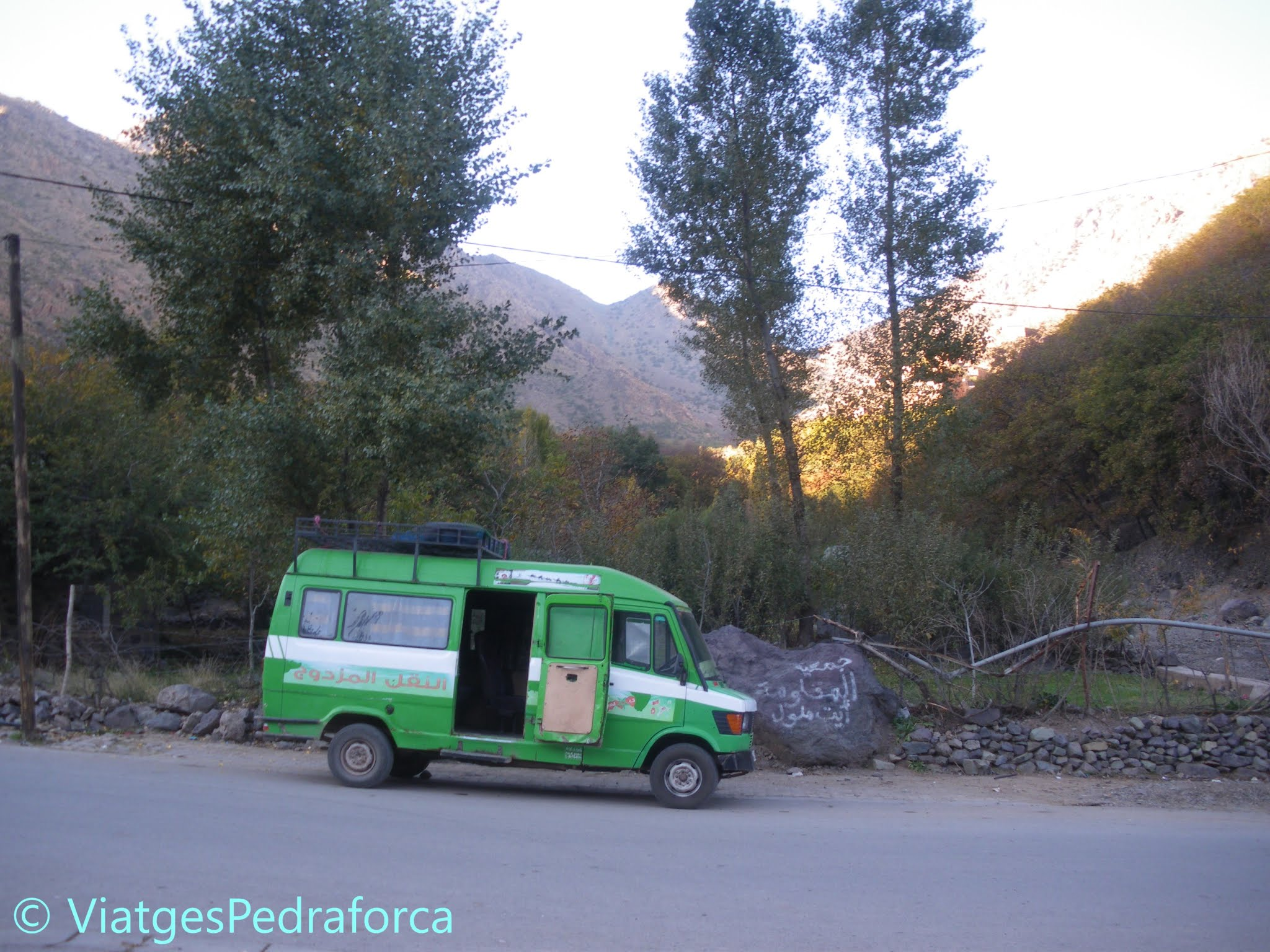 Imlil, Marroc, senderisme a l'Atles