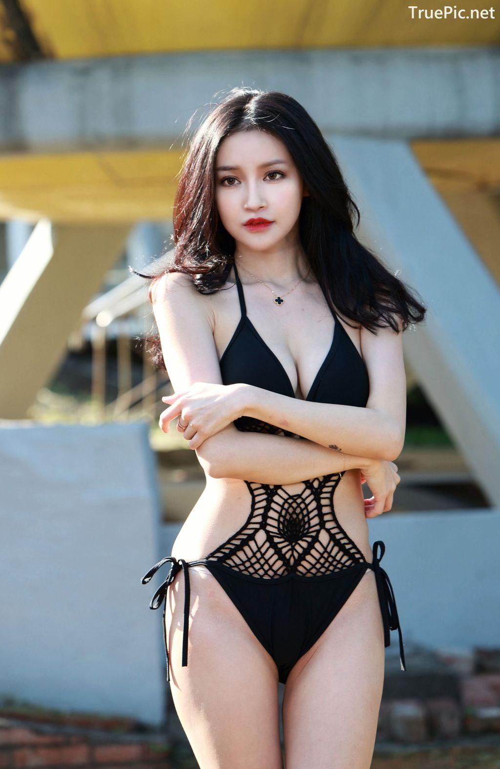 Image-Taiwanese-Model-艾薉-Long-Legs-And-Lovely-Bikini-Girl-TruePic.net- Picture-3