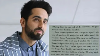 ayushmann khurrana rejected from dharma production for being Outsider