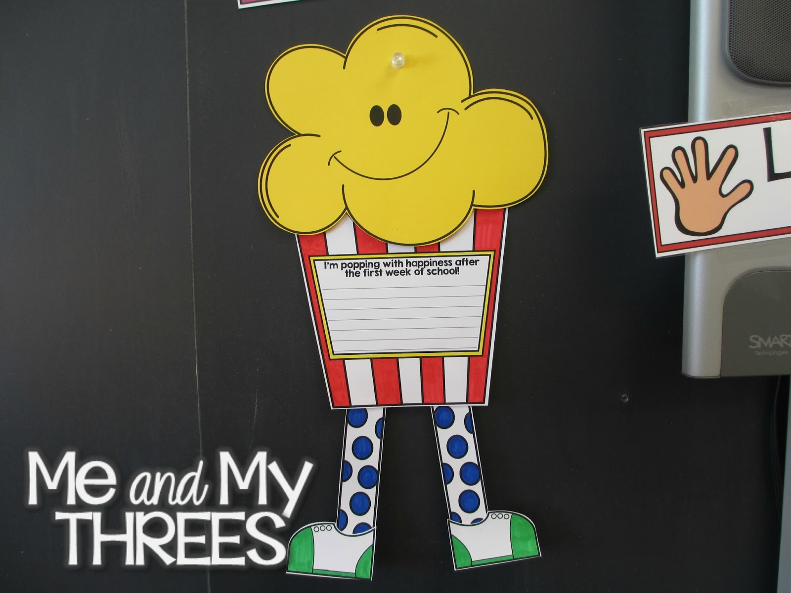Me And My Threes: Clap along if you feel like a room without