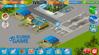Download Game Airport City v4.8.16 APK MOD Unlimited Coin Update Terbaru 2016