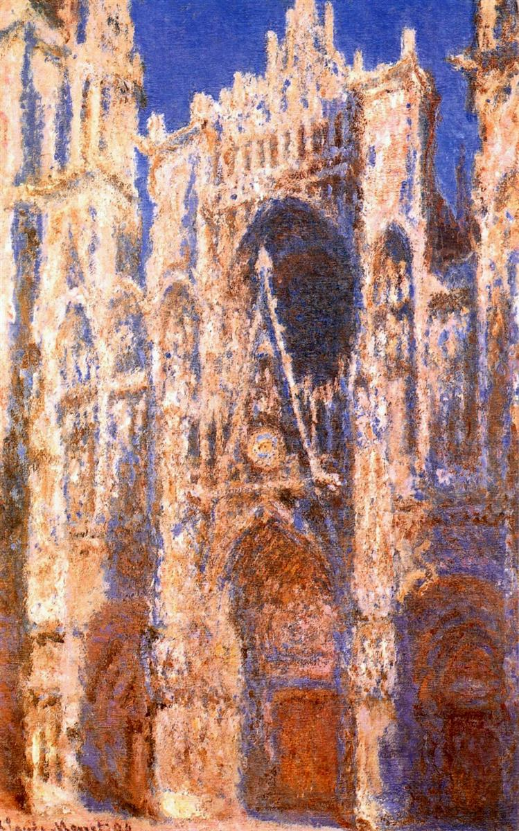 Claude Monet | The Rouen Cathedral - 247.2KB