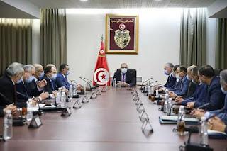رئيس الحكومة يشرف على اجتماع مع قادة الأسلاك الأمنية والمديرين العاميين بوزارة الداخلية  و توضيح  بخصوص اقالة وزير الداخلية