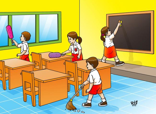 Media Pembelajaran Untuk Kelas 2 SD  materi Pkn Kerukunan