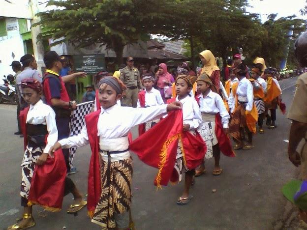 SDN Mulyoagung 2 Karnaval Singgahan Tuban