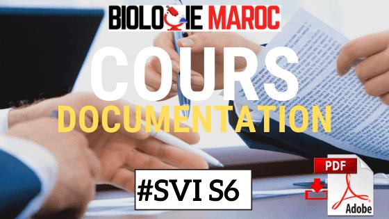 RÉSUMÉ DE DOCUMENTATION S6 PDF - SVI / SVT