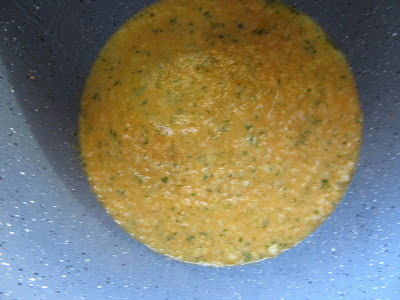 Tortilla de coliflor con Thermomix