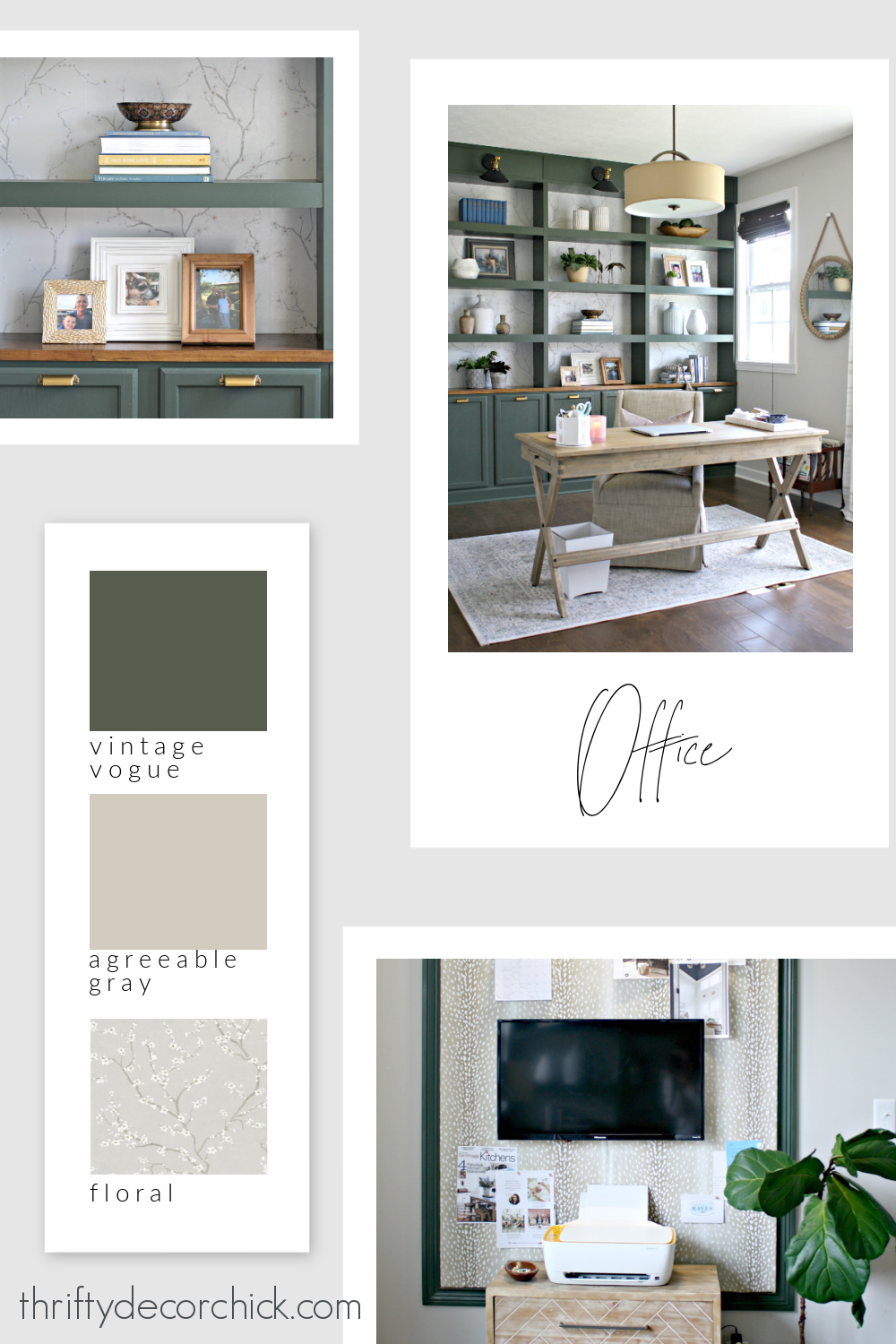 Thrifty Decor Chick office paint colors