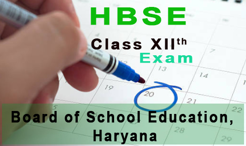 hbse 12th date sheet 2018 - haryana board class 12th time table bseh.org.in