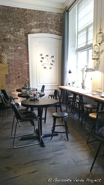 Eye Hotel, sala desayuno - Utrecht por El Guisante Verde Project