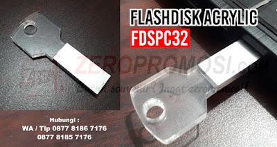 USB Flashdisk Acrylic Key FDSPC32, Souvenir USB Flashdisk Metal ( FDSPC32 ), Usb Acrylic Key FDSPC32