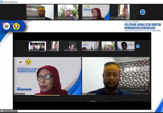 Wartawan Zona-1 Kepri Mulai Lakukan Liputan Kolaboratif Soal Maritim