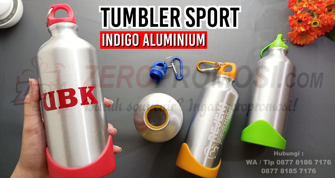 Indigo aluminium bottle, Jual Suvenir Tumbler Murah Chielo di Tangerang, Stainless & Aluminium, Sport Botol INDIGO, botol tempat minum Tumbler Indigo Aluminium Bottle, Botol Alumunium, Barang Promosi Drink Ware Indigo Aluminium Bottle