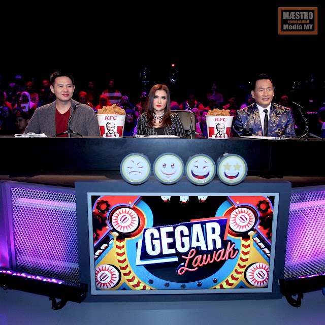 GEGAR LAWAK 2018 MINGGU KE-4 - MAESTRO MEDIA MY