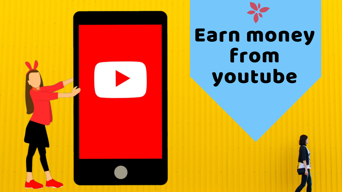 Earn money from youtube |  Youtube monetization | 12 Best Ways to Earn Money Online from Home Without Investment www.itifitter.com
