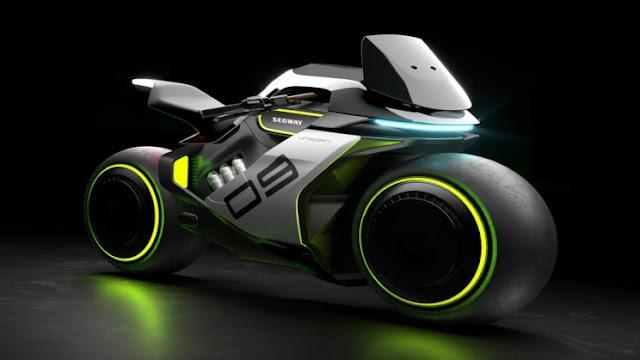 MOTOR. Segway listo para lanzar motocicletas de hidrógeno inspiradas en Tron