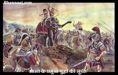 Top 5 Battles of India in Hindi Language