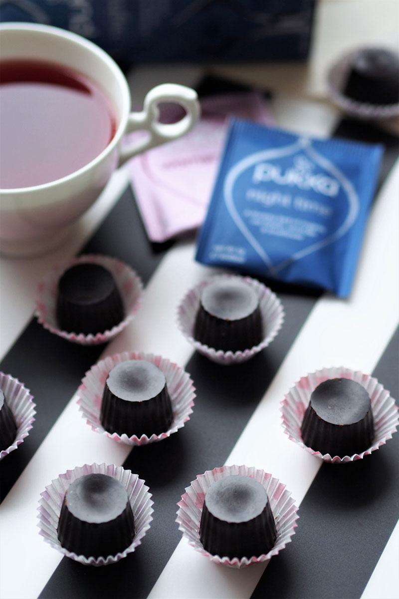 przepis na domowe czekoladki