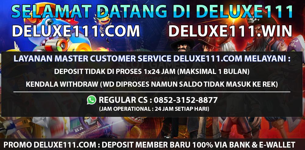 deluxe111 slot online