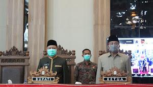 Bupati Lampung Timur Hadiri Rapat Paripurna DPRD