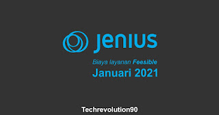 Bank Digital Jenius BTPN Memberikan Tarif Layanan Feesible di Januari 2021