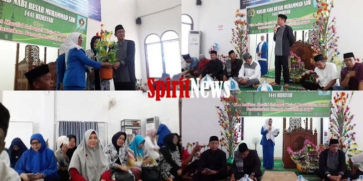 Pengurus PWI dan IKWI Sulsel Peringati Maulid Nabi Besar Muhammad SAW 26 Rabi'ul, 1441- Hijriah
