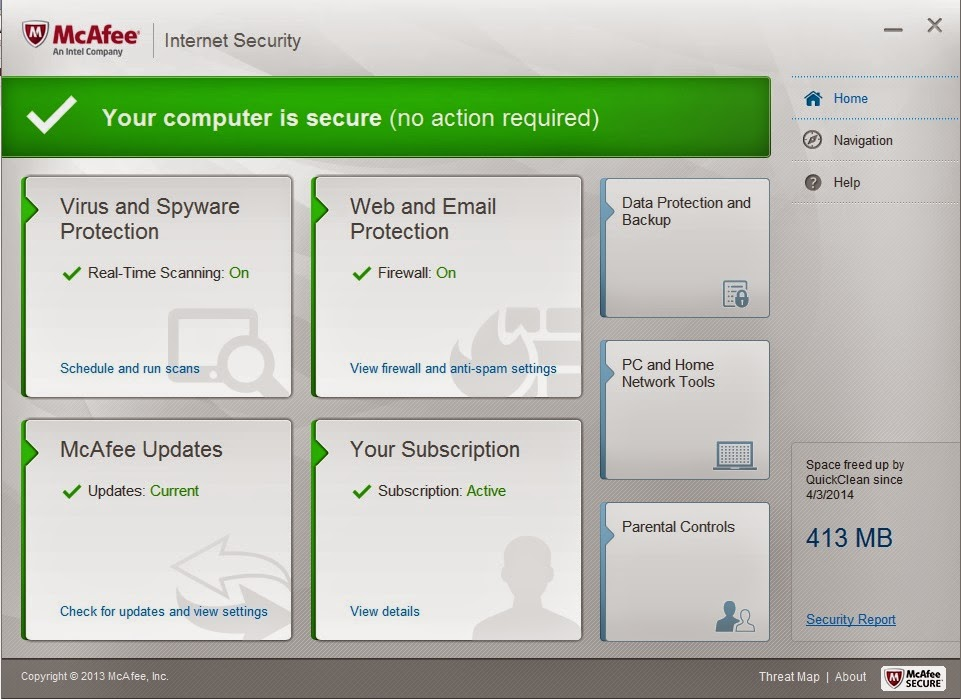 Get McAfee Internet Security Free 6 Months Trial