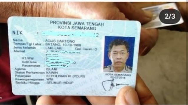 Manusia Silver Ditangkap Petugas, Netizen Terenyuh Lihat Pekerjaan di KTP