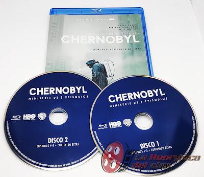Chernobyl Bluray Carátula