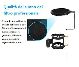 supporto per microfono professionale kh-28