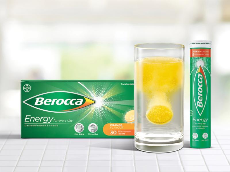 Berocca – rebrand