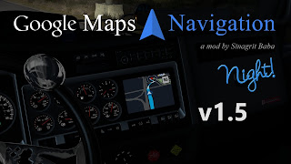 ats google maps navigation night version v1.5